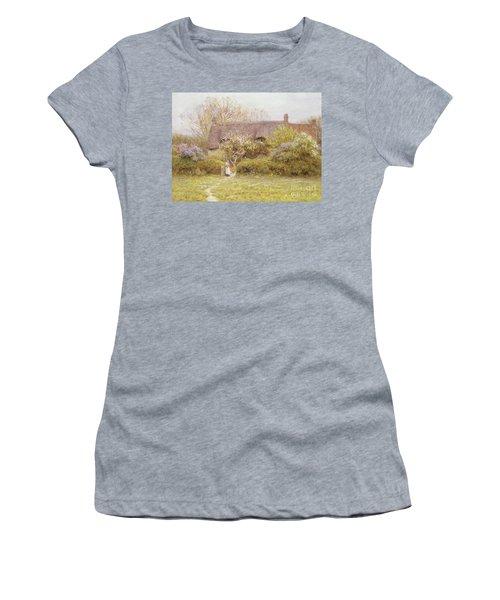 Cottage Freshwater Isle Of Wight Women's T-Shirt