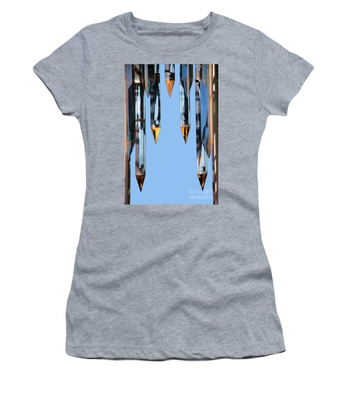 Crystal Cathedral Tower Points Women's T-Shirt (Athletic Fit)