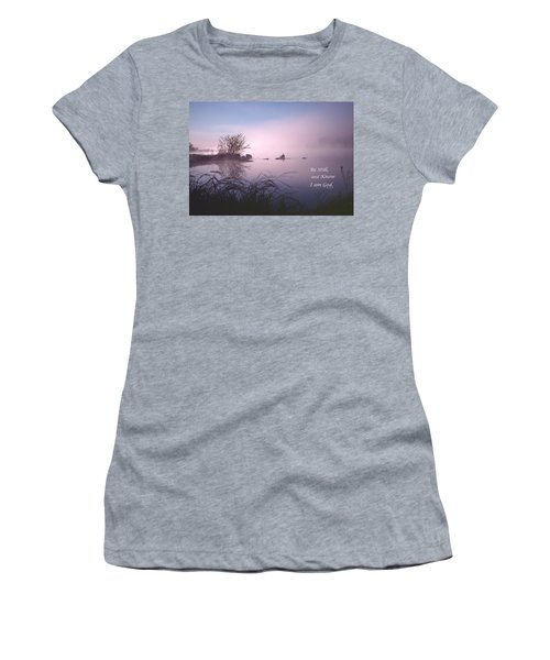 Dawn On The Chippewa River Women's T-Shirt (Athletic Fit)