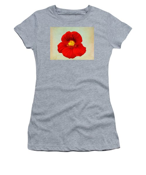 Daylily On Texture Women's T-Shirt