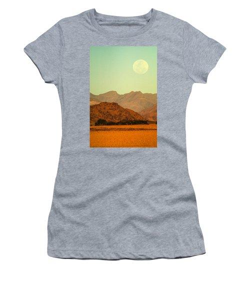 Desert Moonrise Women's T-Shirt