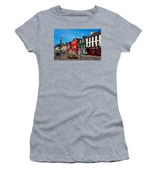 Dingle Bay Color Women's T-Shirt (Athletic Fit)