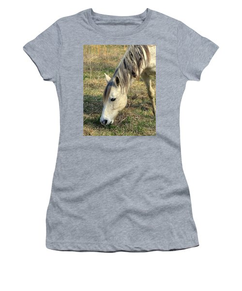 Women's T-Shirt (Junior Cut) featuring the photograph Dinner Time by Marty Koch