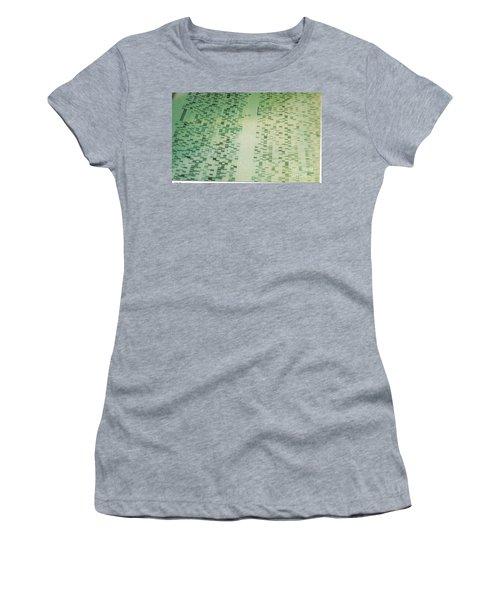 Dna Sequencing Gel Women's T-Shirt
