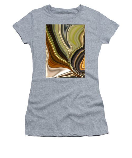 Earth Tones Women's T-Shirt (Athletic Fit)