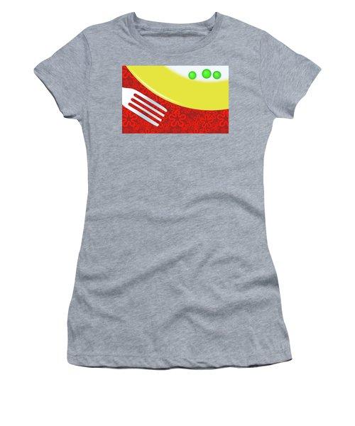 Eat Your Peas Women's T-Shirt