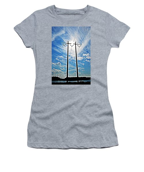 Electric Women's T-Shirt (Athletic Fit)