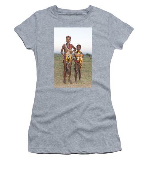 Ethiopia-south Sisters Women's T-Shirt (Athletic Fit)