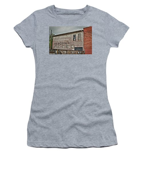 Faded Facade Women's T-Shirt (Athletic Fit)
