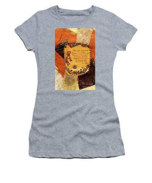 Felt With The Heart Women's T-Shirt