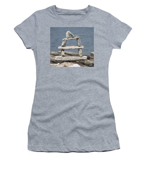 Finding Balance Women's T-Shirt (Athletic Fit)