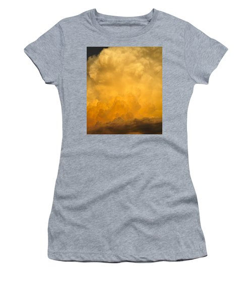 Fire In The Sky Fsp Women's T-Shirt (Athletic Fit)