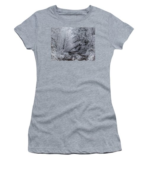 Forest Lace Women's T-Shirt (Junior Cut) by Christian Mattison