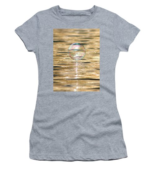 Golden Bubble Women's T-Shirt (Athletic Fit)