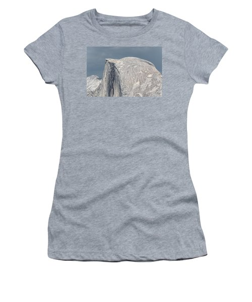 Half Dome From Glacier Point At Yosemite Np Women's T-Shirt (Junior Cut) by Michael Bessler