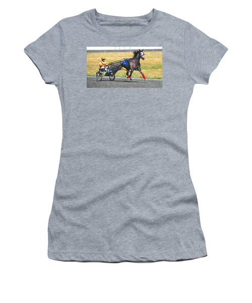 Women's T-Shirt (Junior Cut) featuring the photograph Hooray For The Gray by Alice Gipson