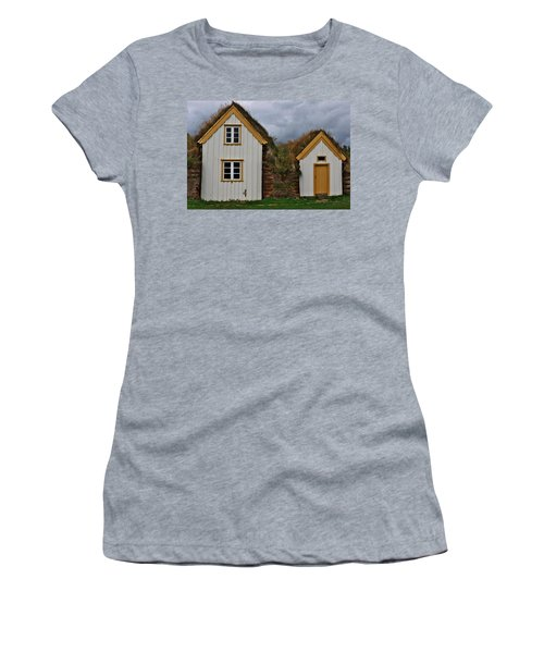 Icelandic Turf Houses Women's T-Shirt