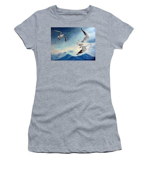 In Flight Women's T-Shirt (Athletic Fit)
