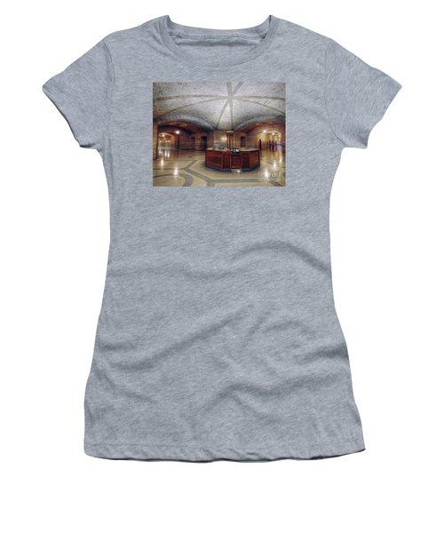 Info Desk Women's T-Shirt (Junior Cut) by Art Whitton