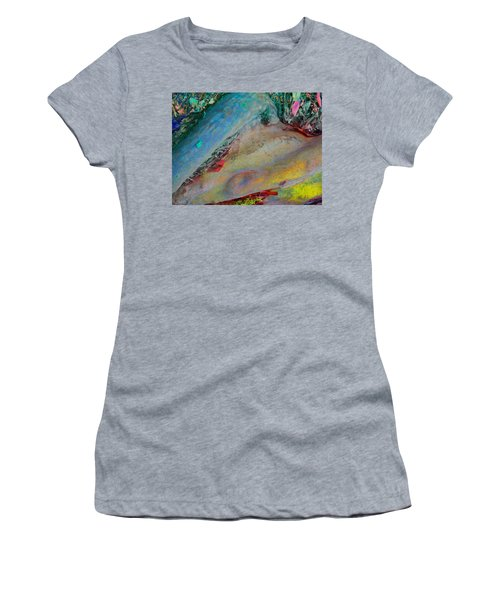 Women's T-Shirt (Junior Cut) featuring the digital art Inner Peace by Richard Laeton