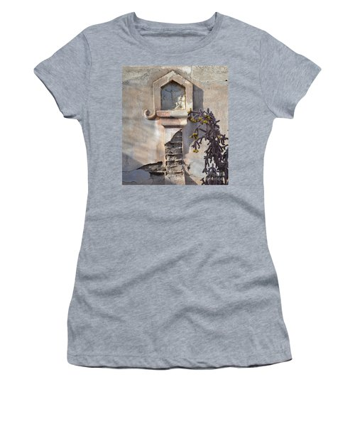Women's T-Shirt (Junior Cut) featuring the photograph Jesus Image by Rebecca Margraf