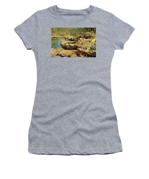 Women's T-Shirt (Junior Cut) featuring the photograph Klepzig Shut In by Marty Koch
