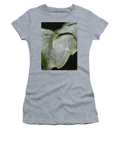Women's T-Shirt (Junior Cut) featuring the photograph Leafy Greens by Tiffany Erdman
