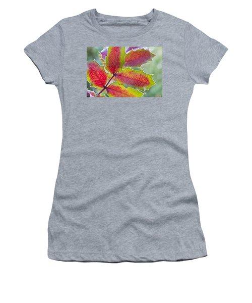 Little Bit Of Autumn Women's T-Shirt (Athletic Fit)
