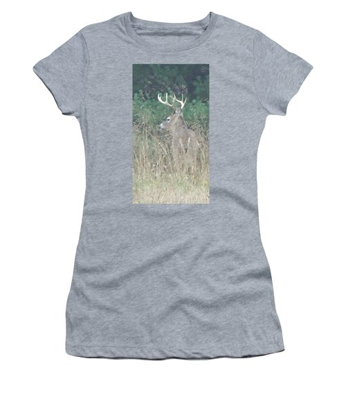 Majestic Buck Women's T-Shirt (Athletic Fit)