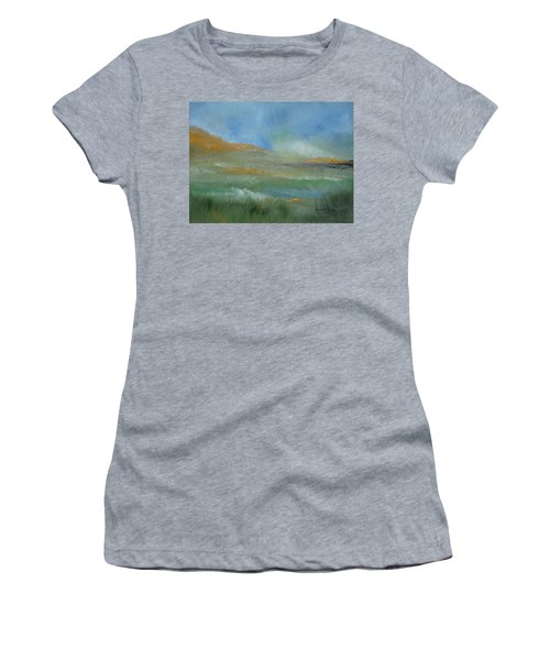 Misty Morning Women's T-Shirt (Junior Cut) by Judith Rhue