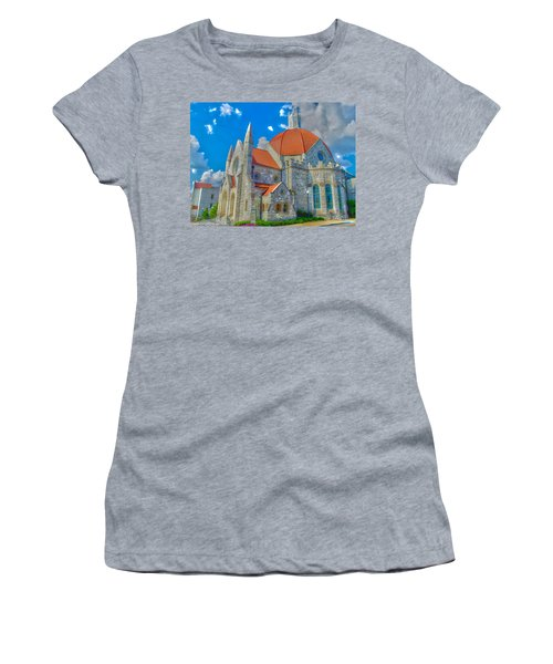 Montgomery Baptist Church Hdr Women's T-Shirt (Athletic Fit)