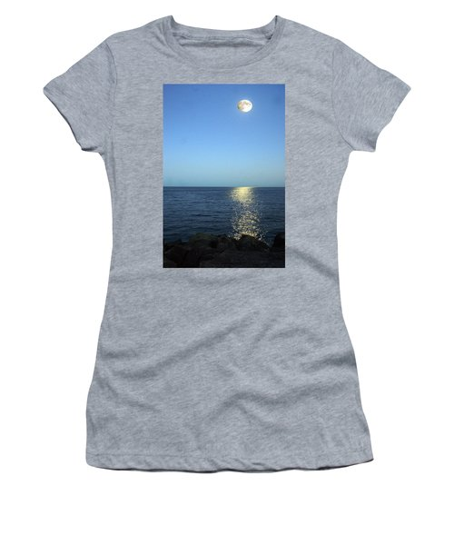 Moon And Water Women's T-Shirt