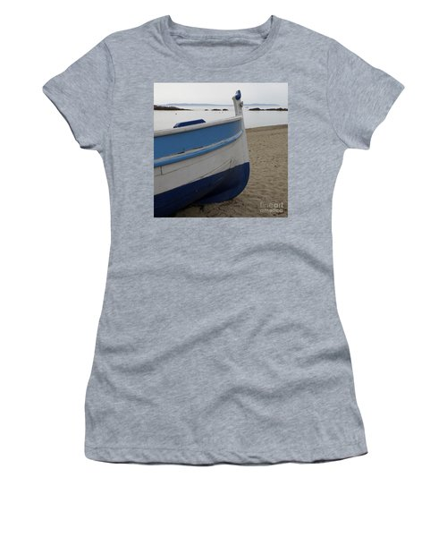 Women's T-Shirt (Junior Cut) featuring the photograph Morning Seascape by Lainie Wrightson