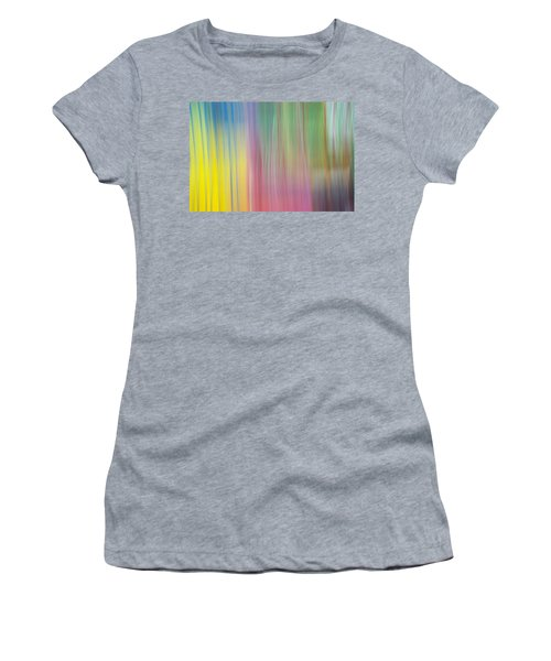 Moving Colors Women's T-Shirt (Junior Cut) by Susan Stone