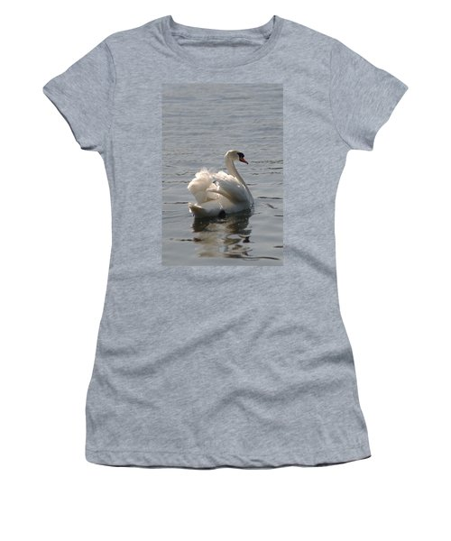 Mute Swan Women's T-Shirt (Athletic Fit)