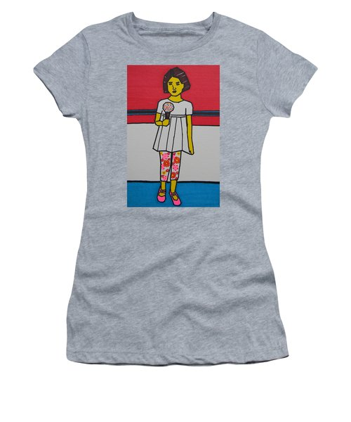 My Ice Cream  Women's T-Shirt (Athletic Fit)