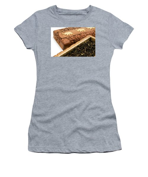 Ornate Box With Darjeeling Tea Women's T-Shirt