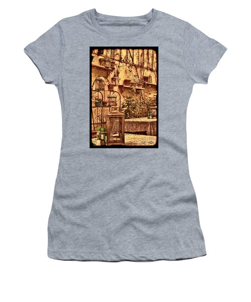 Outside Tables Women's T-Shirt (Athletic Fit)