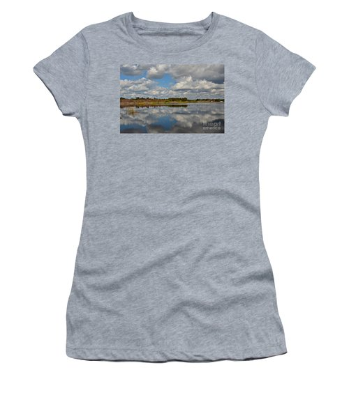 Partly Cloudy Women's T-Shirt (Athletic Fit)