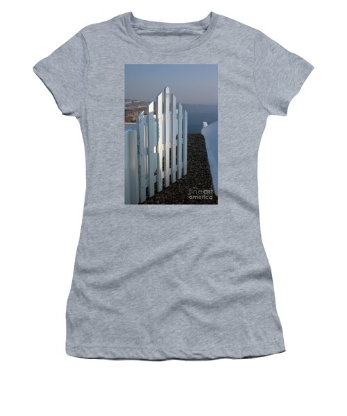 Women's T-Shirt (Junior Cut) featuring the photograph Please Come In by Vivian Christopher