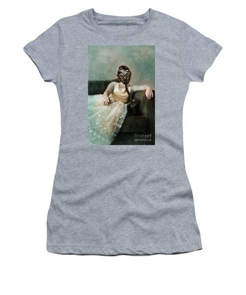 Princess In Gas Mask 2 Women's T-Shirt