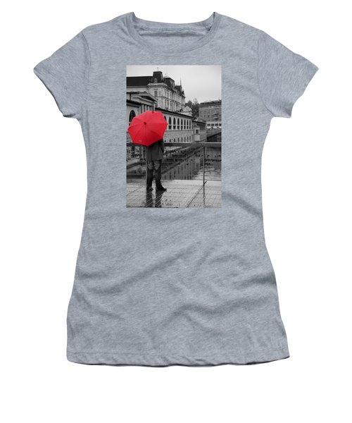 Rainy Days In Ljubljana Women's T-Shirt