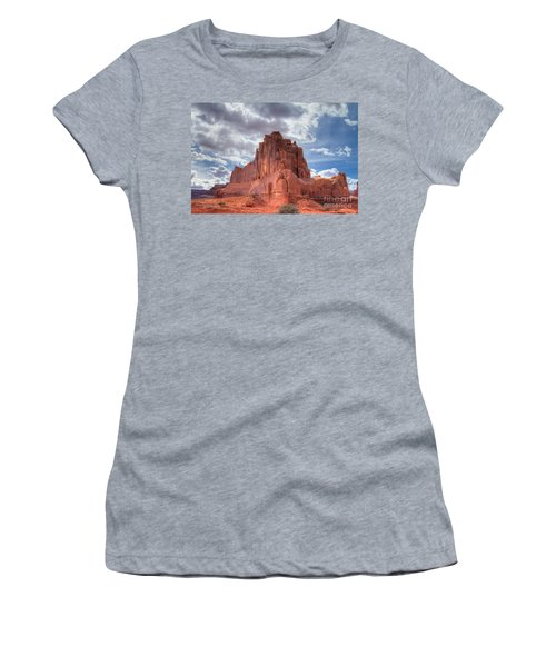 Reaching The Sky Women's T-Shirt (Athletic Fit)