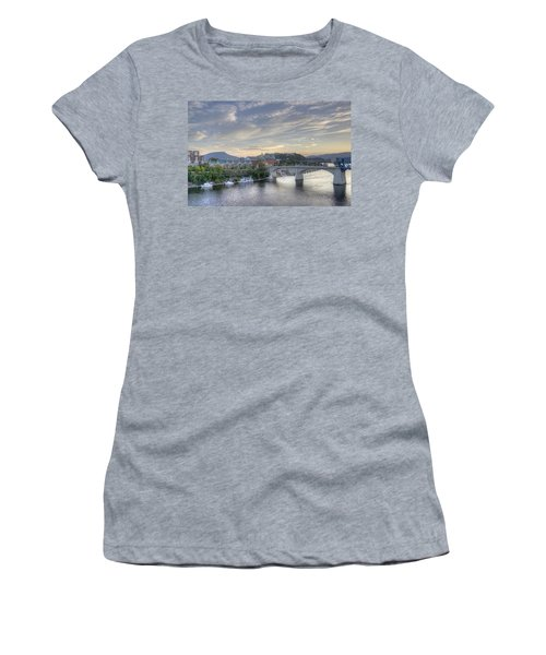 Riverfront View Women's T-Shirt (Athletic Fit)