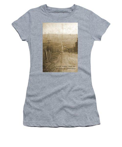Road Not Traveled  Women's T-Shirt