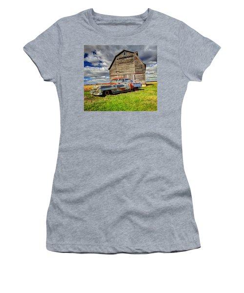Rusty Old Cadillac Women's T-Shirt