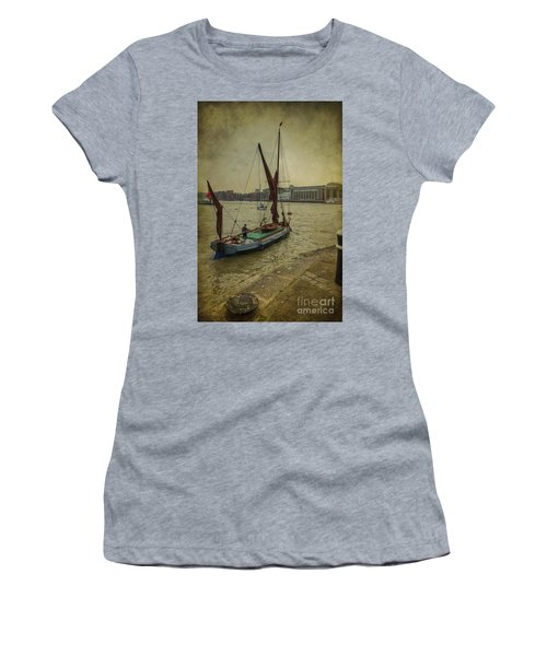 Women's T-Shirt (Junior Cut) featuring the photograph Sailing Away... by Clare Bambers