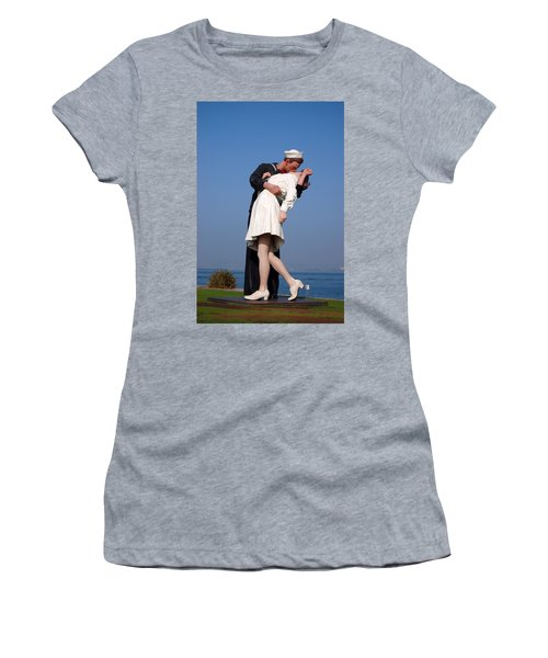 Sailor's Kiss Women's T-Shirt (Athletic Fit)
