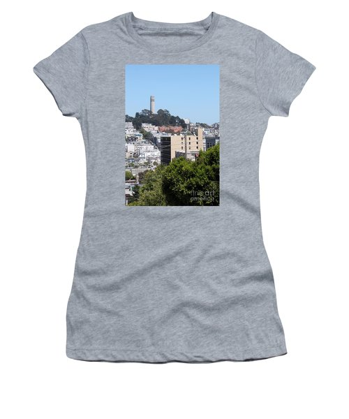 San Francisco Coit Tower Women's T-Shirt