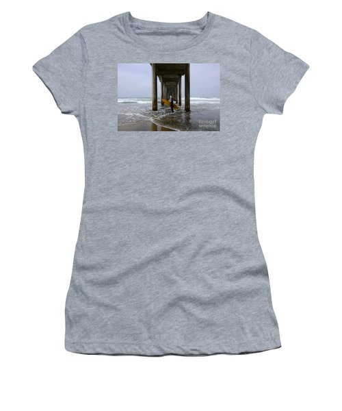 Scripps Pier Surfer 2 Women's T-Shirt